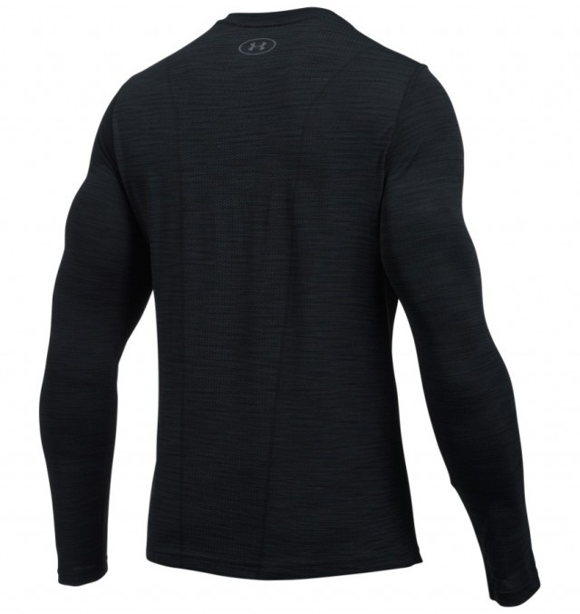 Under Armour Threadborn Seamless LongSleeve Black