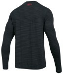 Under Armour Threadborn Seamless LongSleeve Grey Red
