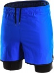 Under Armour Qualifier 2-IN-1 Short Blue/Black