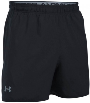 Under Armour Qualifer 5'' Woven Short Black Gray