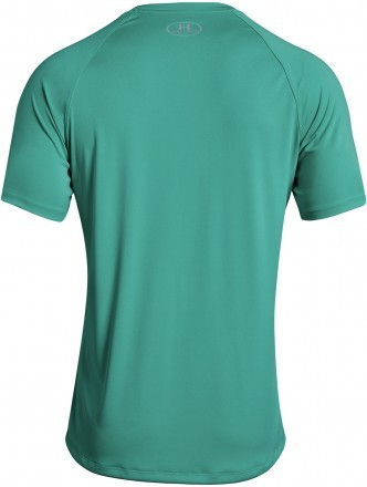 Under Armour Heatgear Run Short Sleeve Tee Green