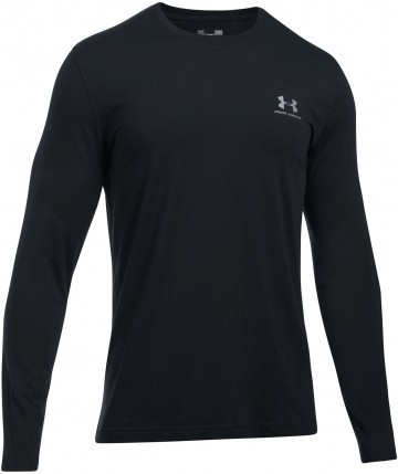Under Armour Long Sleeve Left Chest Black