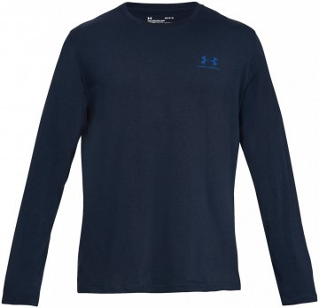 Under Armour Long Sleeve Left Chest Navy
