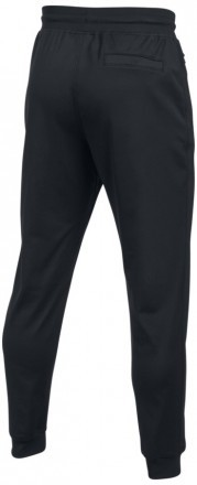 Under Armour Sportstyle Jogger Black White