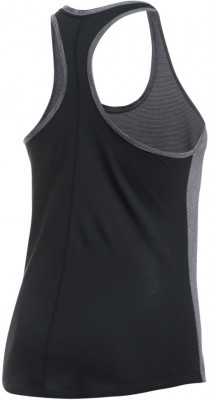 Under Armour Threadborne Run  Mesh Tank Gray