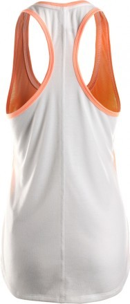 Under Armour Threadborne Streaker MshTnk White/Orange