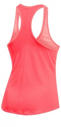 Under Armour Threadborne Run  Mesh Tank Red