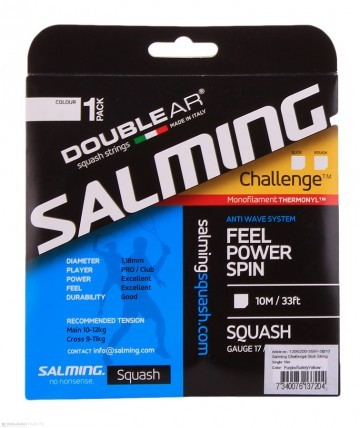 Salming Challenge Slick String Purple/ Yellow