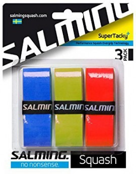 Salming Super Tacky 3Pack OverGrip Red