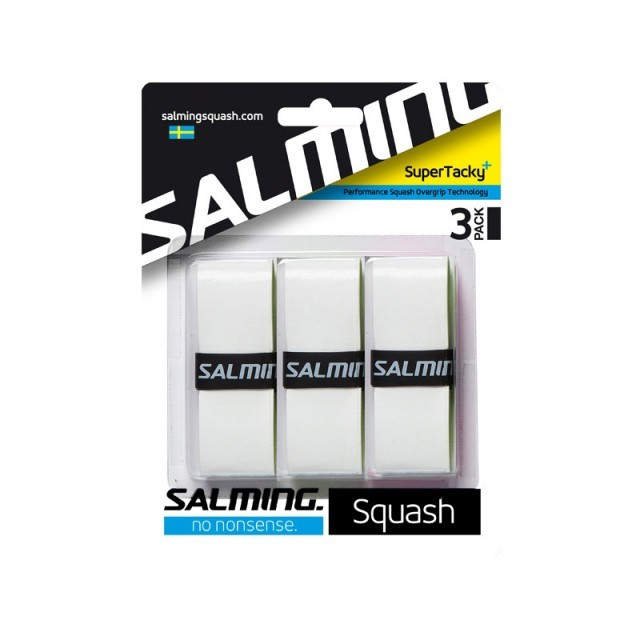 Salming Super Tacky Grip 3 Pack White