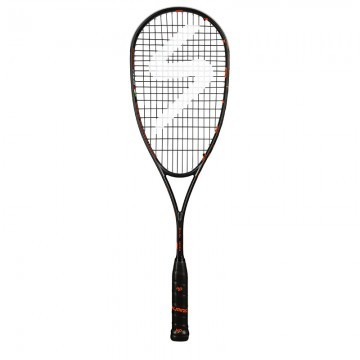 Salming Fusione Feather Racket Black Orange