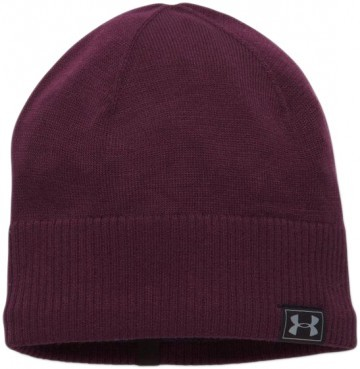 Under Armour Reactor Knit Beanie Burgundy