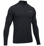 Under Armour Threadbone Seamless 1/4 ZIP Black