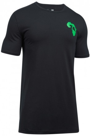 Under Armour ALI Rumble In The Jungle T-Shirt Black