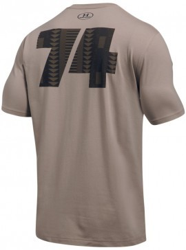 Under Armour ALI Rumble In The Jungle Zaire Tee Brown
