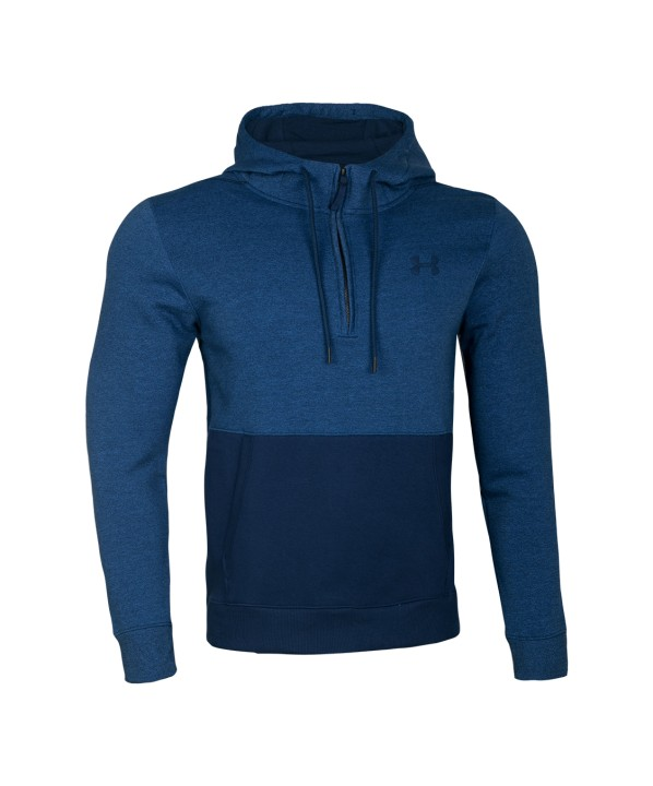 Under Armour Threadborne 1/2 Zip Hoodie Blue