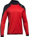 Under Armour Pull Over ColdGear Reactor Fleece Black Red