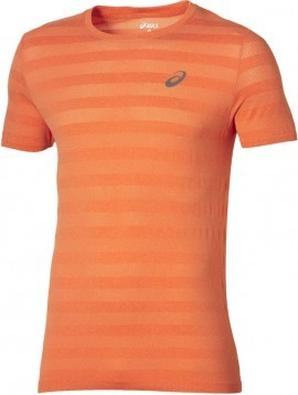 Asics Fuzex Seamless Tee Orange