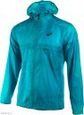 Asics FuzeX Packable Jacket Blue