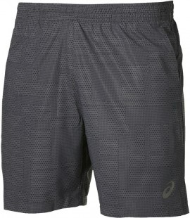 Asics Fuzex 7IN Print Short Grey