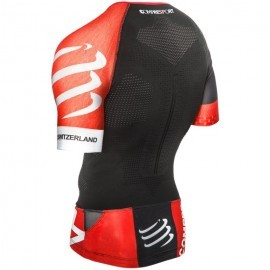 odzież kompresyjna Compressport Aero Top Black