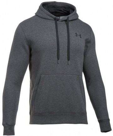 Under Armour Rival Fitted Pull Over Gray