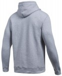 Under Armour Rival Fitted Graphic Hoodie Grey Green
