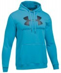 Under Armour Rival FTD Graphic Hoodie Blue