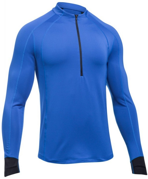 Under Armour CG Reactor Run Half Zip Blue
