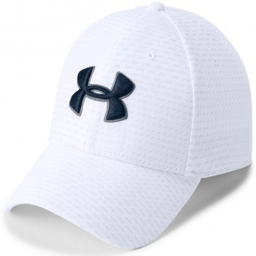 Under Armour Printed Blitzing 3.0 Cap White