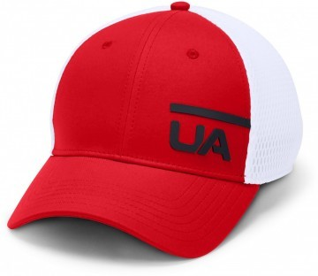 Under Armour Men's Train Spacer Mesh Cap Red White