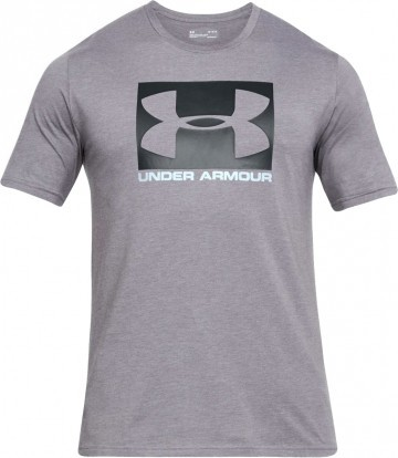Under Armour UA Boxed Sportstle Short Sleeeve Grey