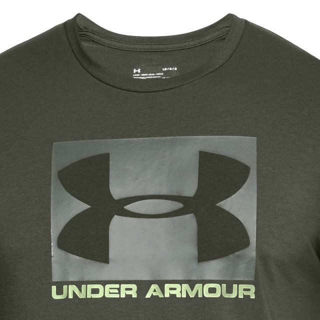 Under Armour UA Boxed Sportstle Short Sleeeve Green