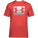 Under Armour UA Boxed Sportstle Short Sleeeve Red