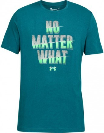 Under Armour No Matter What Short Sleeve Blue
