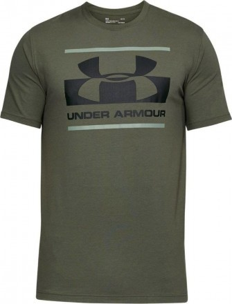 Under Armour Blocked Sportstle Logo Dark Green