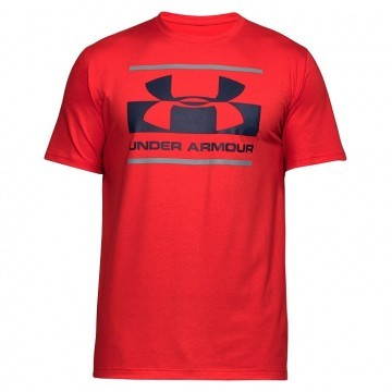 Under Armour Blocked Sportstle Logo Red