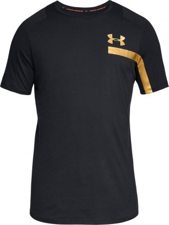 Under Armour Perpetual Short Sleeve Graphic Black Gold