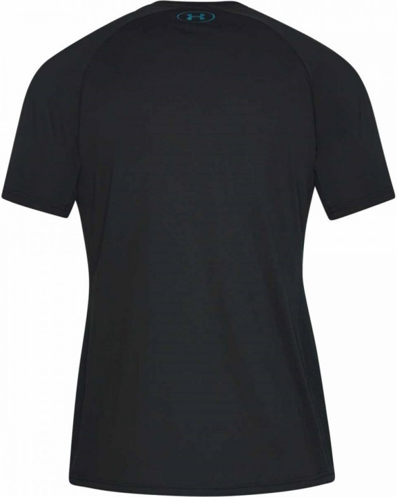 Under Armour Threadborne Vanish Short Sleeve Black
