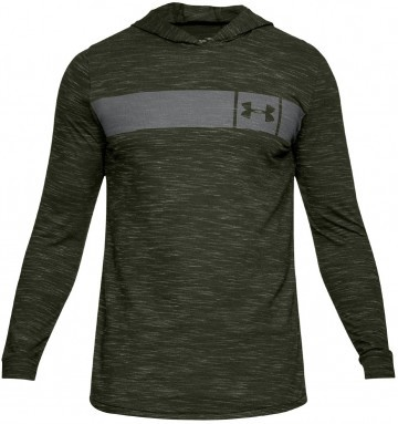 Under Armour Sportstle Core Hoodie Green/Black