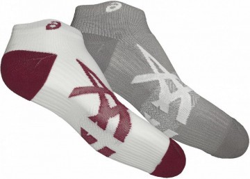 Asics Lightweight Sock Carbon 2Pack