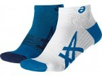 Asics Lightweight Sock Blue 2 Pack