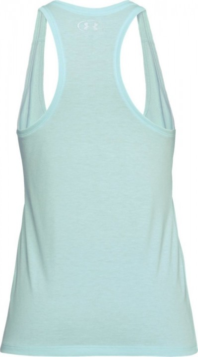 Under Armour Threadborne Train Graphic Twist Tank Mint