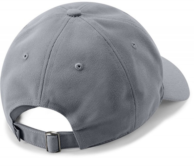 Under Armour Men's Core Canvas Dad Cap Grey