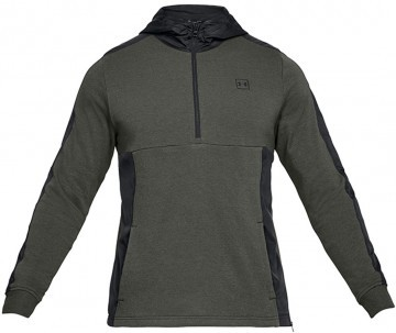 Under Armour Threadborne Terry Hood Green