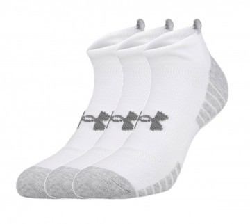 Under Armour Heatgear Tech No Show White