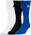 Under Armour Elevated Performance Crew 3Pack Blue