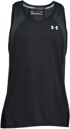 Under Armour Coolswitch Run Singlet V3 Black