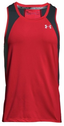 Under Armour UA Coolswitch Run Singlet V3 Red
