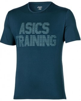 Asics Graphic Top Blue